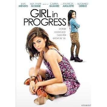 Girl In Progress Movie poster Metal Sign Wall Art 8in x 12in