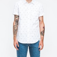 Topman Zig Zag Embroidered Shirt