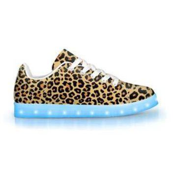 Leopard - APP Controlled Low Top LED Shoes
