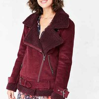 Silence + Noise Corduroy Aviator Jacket - Urban Outfitters