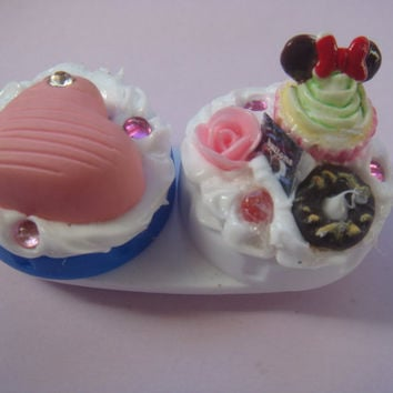 Contact lenses case  All things nice by PlainJane13 on Etsy