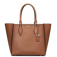 michael kors women s new fashion collection gracie large leather tote
