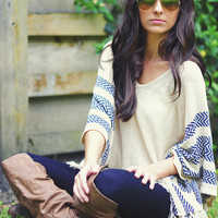 The Chief's Daughter Sweater: Tan | Hope's
