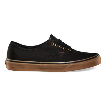 Vans Authentic - Black Rubber
