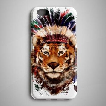 American Tiger Painting iPhone X Case iPhone 8
