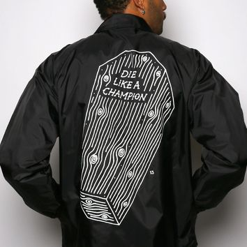Die Like A Champion Unisex Coaches Jacket