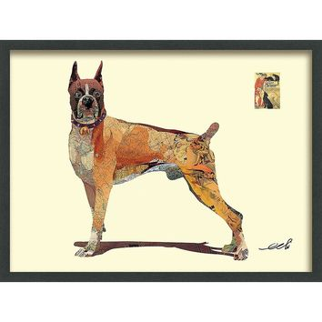 Boxer ~ Art Collage