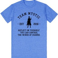 Team Mystic Motto Pokemon Go Athletic Shirt