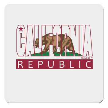 "California Design #1 4x4"" Square Sticker by TooLoud"