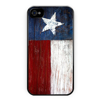 Texas Star Flag Colors Meaning iPhone 4/4S Case