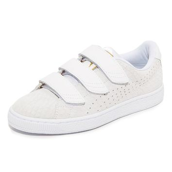 Basket Strap Sneakers