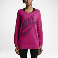 Nike Rally Boyfriend Fit Big Logo Crew Women's Top
