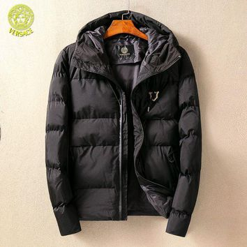 ONETOW Boys & Men Versace Fashion Casual Cardigan Jacket Coat
