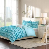 Home Essence Apartment Marley Bedding Comforter Set - Walmart.com
