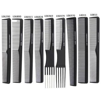 Professional Hair Trimmer Carbon Comb Hairdressing Antistatic Cutting Comb Full Style Offer