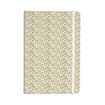 "Julie Hamilton ""Rhapsody Vine"" Yellow Purple Everything Notebook"
