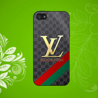 louis vuitton-gucci pattern Case for iPhone, Samsung Galaxy S2/S3/S4, Samsung, HTC and Blackberry