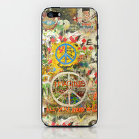 All You Need is Love - The Beatles - Imagine - John Lennon - Peace Sign iPhone & iPod Skin by Tara Holland  | Society6