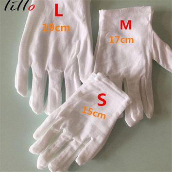 Children 's cotton etiquette white gloves kindergarten dancing gloves pupils performance dance gloves cotton adult Stylish and p