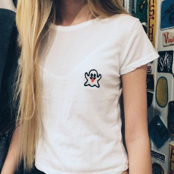 SAMMY GHOST PATCH TOP