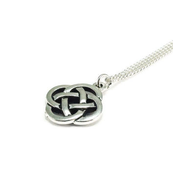 Celtic Knot Necklace, Celtic Style Jewelry