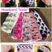 "Pattern - Headband ""Icicle"""