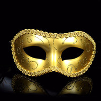 Men/Women Costume Prom Mask Venetian Mardi Gras Party Dance Masquerade Ball Halloween Mask Fancy Dress Costume