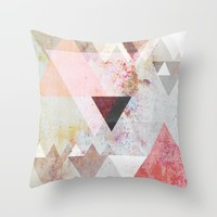 Graphic 3 Throw Pillow by Mareike Böhmer Graphics And Photography