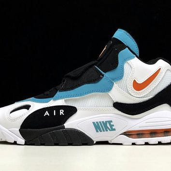 Nike AIR MAX SPEED TURF Retro Men Shoes Sneakers Sport Basketball White Black Blue Size 40-45