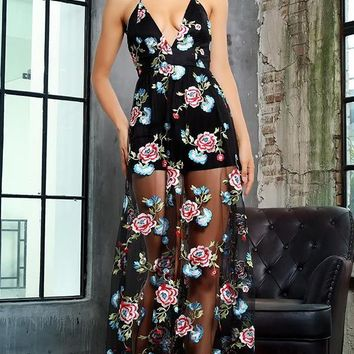 Kassandra Floral Maxi Dress