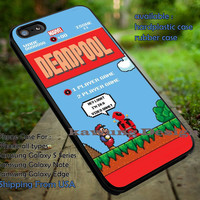 Comic Villain Character in Retro Game Art Parody iPhone 6s 6 6s+ 5c 5s Cases Samsung Galaxy s5 s6 Edge+ NOTE 5 4 3 #movie #disney #animated #marvel #comic #deadpool dt