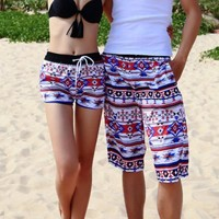 For Men's/Women's Quick-drying Swim Casual Surf Board Trunks Shorts Beach Pants