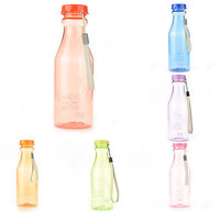 Sport Travel Water Bottle Portable Leak-proof Cycling Camping Cup Unbreakable 3C