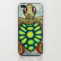 Baby Sea Turtle iPhone & iPod Skin by Alohalani