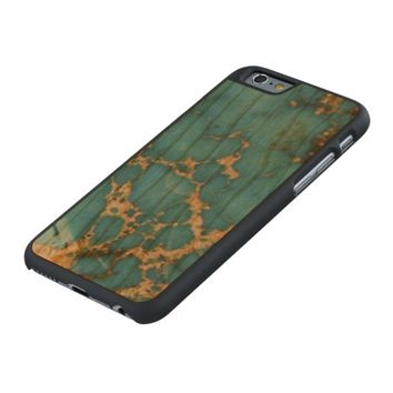 Natural Turquoise Stone Carved® Cherry iPhone 6 Case