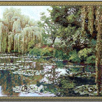 Monet Right Panel Tapestry Wall Art Hanging