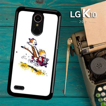 Calvin And Hobbes X4727 LG K10 2017 / LG K20 Plus / LG Harmony Case