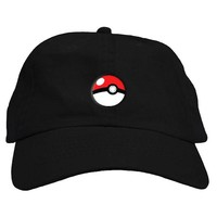 Pokeball Dad Hat