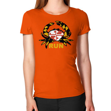 Women's Crabby Runner Maryland T-Shirt