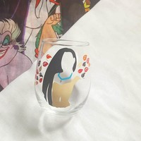 Disney Princess Pocahontas Wine Glass Food And Wine Festival Cup