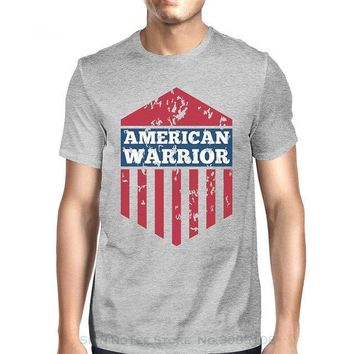 American Warrior - 4th Of July - T-shirt
