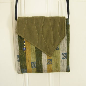 Cross Body Bag - Contemporary Woodland