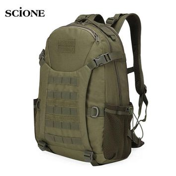 50L Molle Camping Rucksack Tactical Military Backpack Bags Waterproof Backpacks Camouflage Hiking Outdoor Shoulder Bag XA303WA