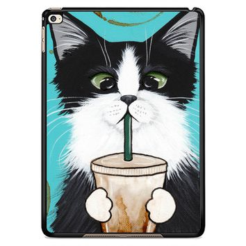 Cute Coffee Cat W4510 iPad Air 2  Case