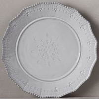 Estella Side Plate by Anthropologie in White Size: Side Plate Dinnerware