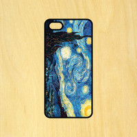 Starry Night Painting Van Gogh Phone Case iPhone 4 / 4s / 5 / 5s / 5c /6 / 6s /6+ Apple Samsung Galaxy S3 / S4 / S5 / S6