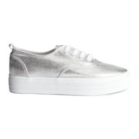 Platform Sneakers - from H&M