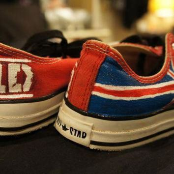 QIYIF one direction shoes converse sneakers hand painted