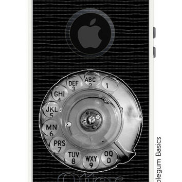 OTTERBOX Commuter iPhone 5 5S 5C 4/4S Samsung Galaxy S3 S4 S5 Note 2 3 Case Payphone Vintage Rotary Dial Retro Fashion Series Collection