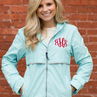 Jan/Feb Delivery - Monogrammed Rain Jacket - Women's Sizes